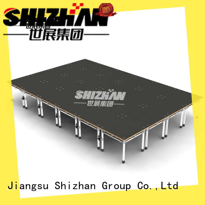 Shizhan ISO9001 certified mobile stage platform for event