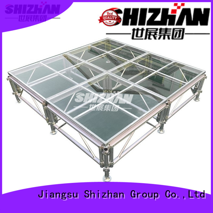 Shizhan collapsible stage platform trader for sale