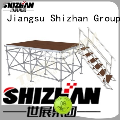 Shizhan modern folding stage platform factory for party