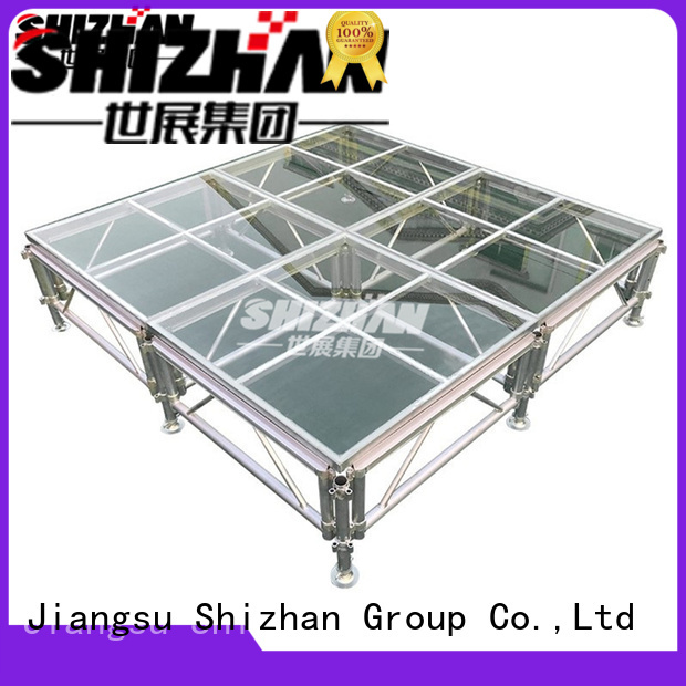 mobile folding stage for event Shizhan
