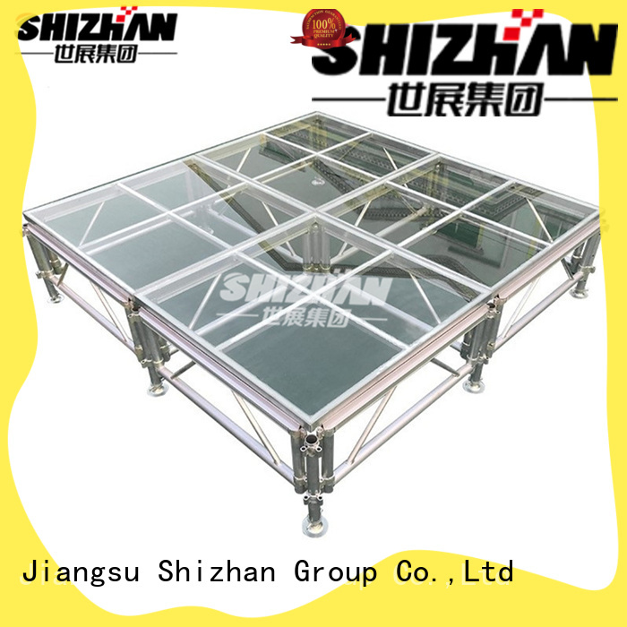 100% quality portable outdoor stage manufacturer for event