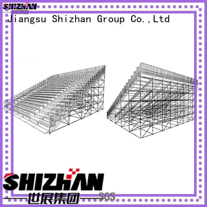 Shizhan new mobile bleachers quick transaction for gym