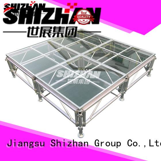 Shizhan aluminum stage platform trader for sale
