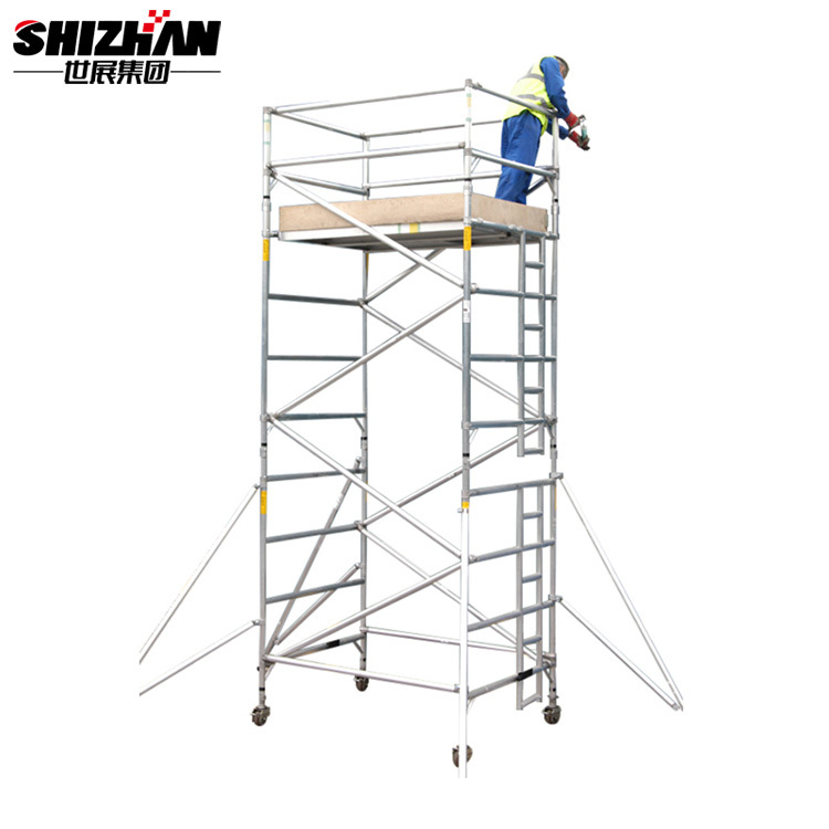 H Frame scaffolding adjustable height scaffolding