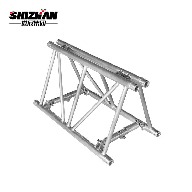 Folding truss exhibit and display truss