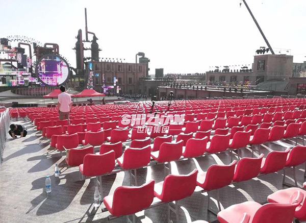Aksu Music Festival - 3000 grandstand seats provided by Shizhan Group