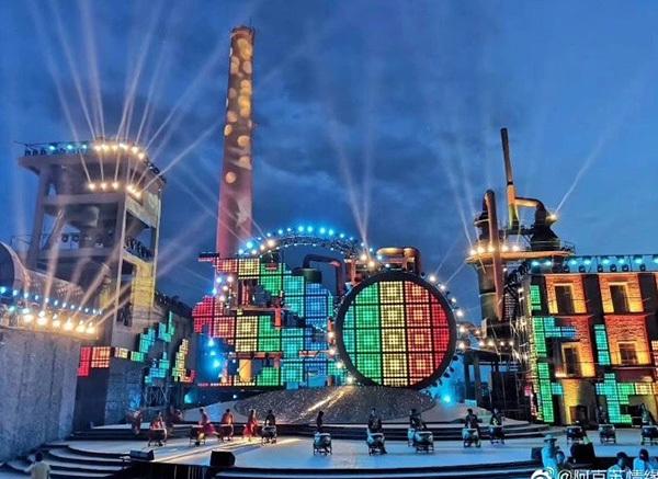Aksu Music Festival - 3000 grandstand seats provided by Shizhan company