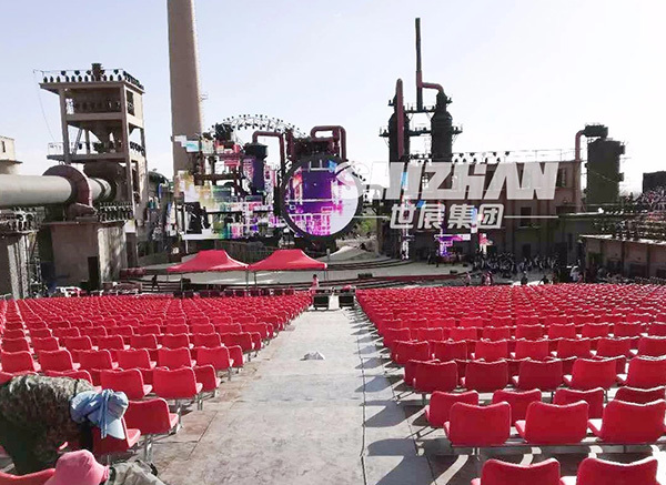 Aksu Music Festival - 3000 grandstand seats provided by our company 7
