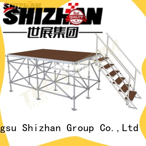 Shizhan modern adjustable stage factory for party