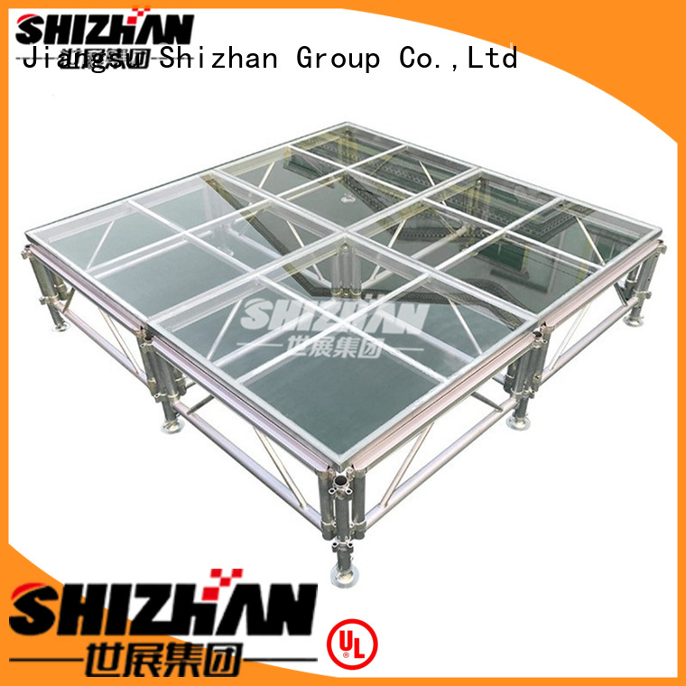 100% quality portable folding stage manufacturer for event Shizhan