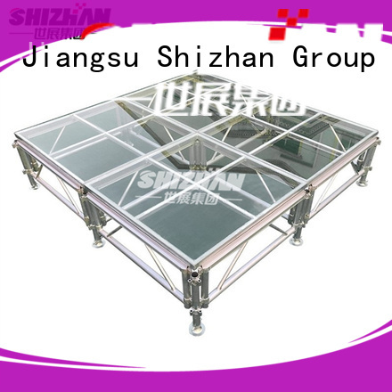 Shizhan 100% quality outdoor stage manufacturer for event