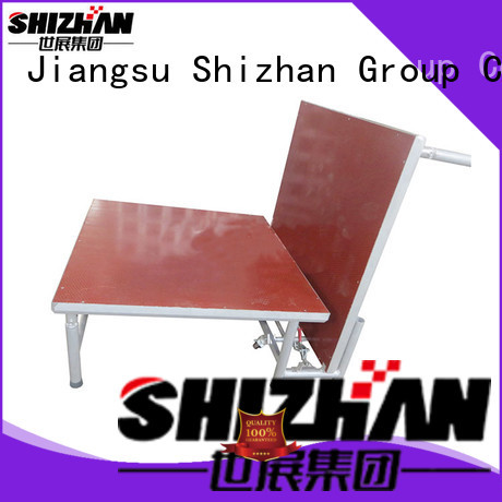 Shizhan modern aluminum stage factory for party