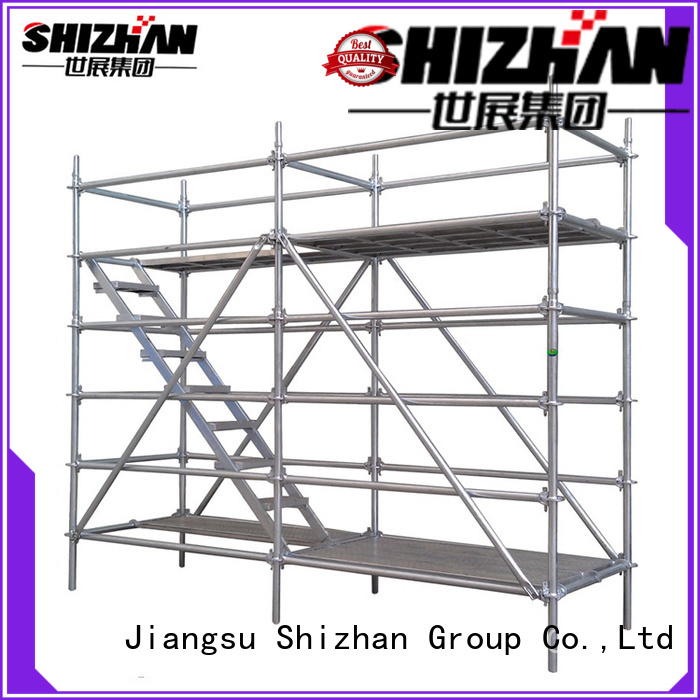 Shizhan professional metal scaffolding exporter for house building
