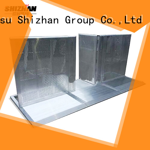 Shizhan custom crowd barriers supplier for event