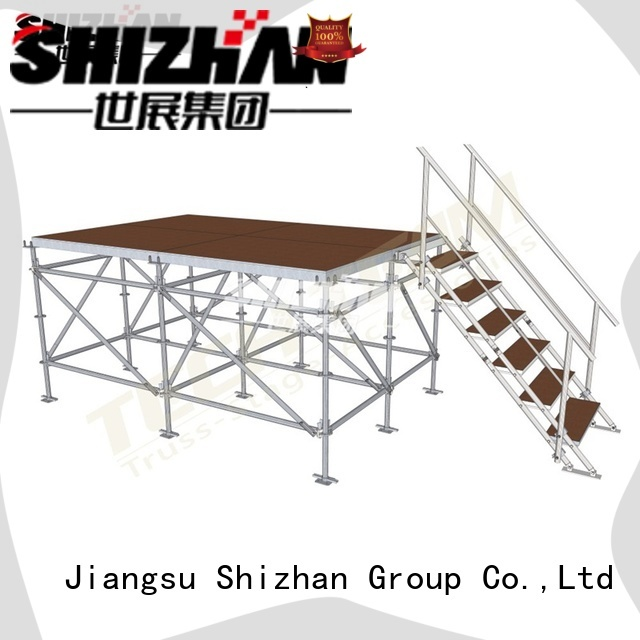 Shizhan 100% quality best concert stages factory for sale