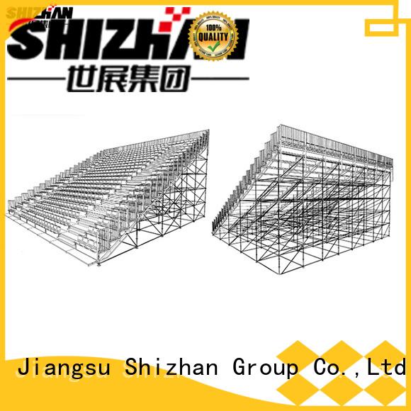 Shizhan high school bleachers bulk purchase for gym