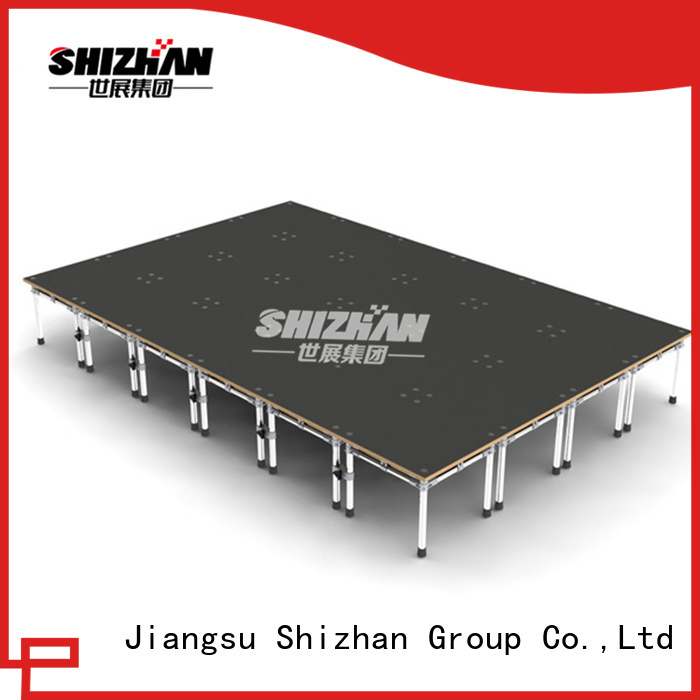 Shizhan 100% quality aluminum stage platform trader for party