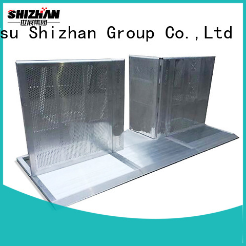 Shizhan crowd barriers supplier for event