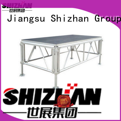 Shizhan folding stage factory for sale