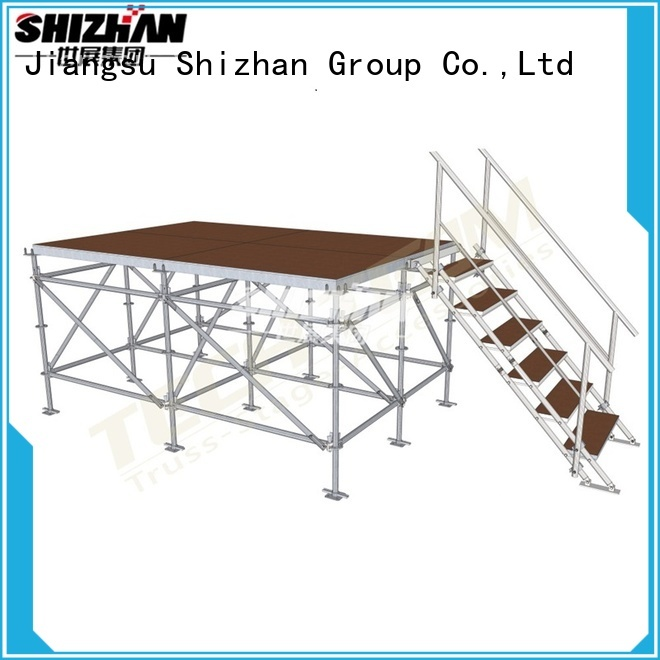 Shizhan 100% quality event stage manufacturer for sale
