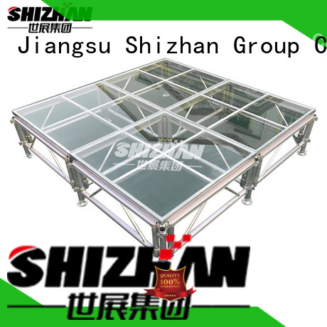 Shizhan portable stage platform factory for sale