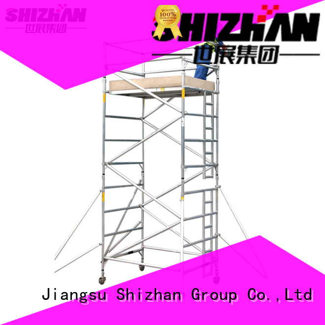 Shizhan ISO9001 certified scaffolding tower solution expert for house building