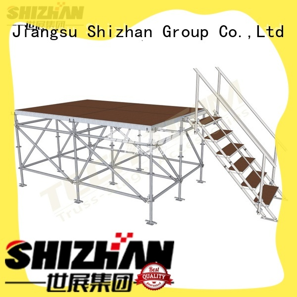 Shizhan ISO9001 certified performance stage trader for party