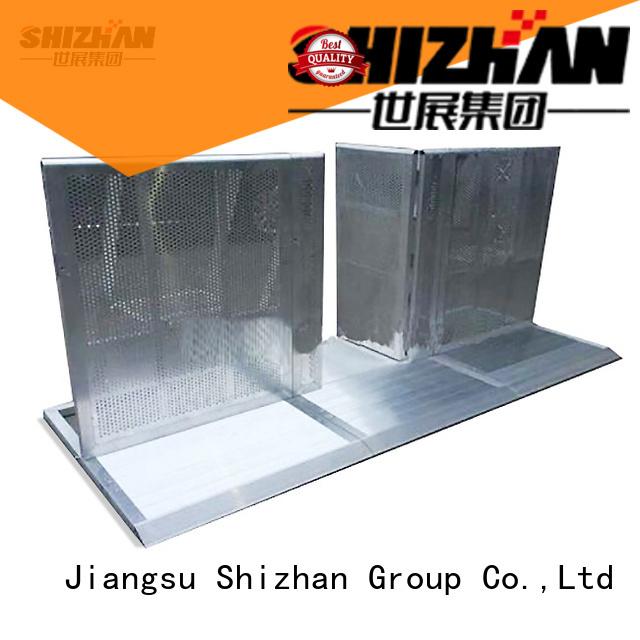 Shizhan crash barrier supplier for concert