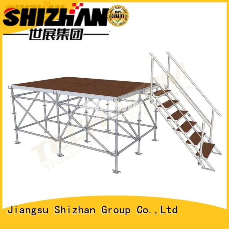 Shizhan portable stage platform trader for event