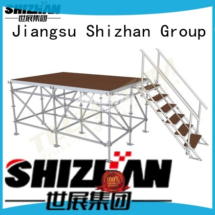 Shizhan modern movable stage factory for event