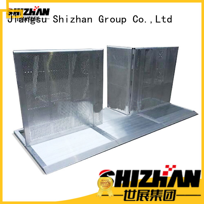 Shizhan affordable safety barricade one-stop services for sporting events