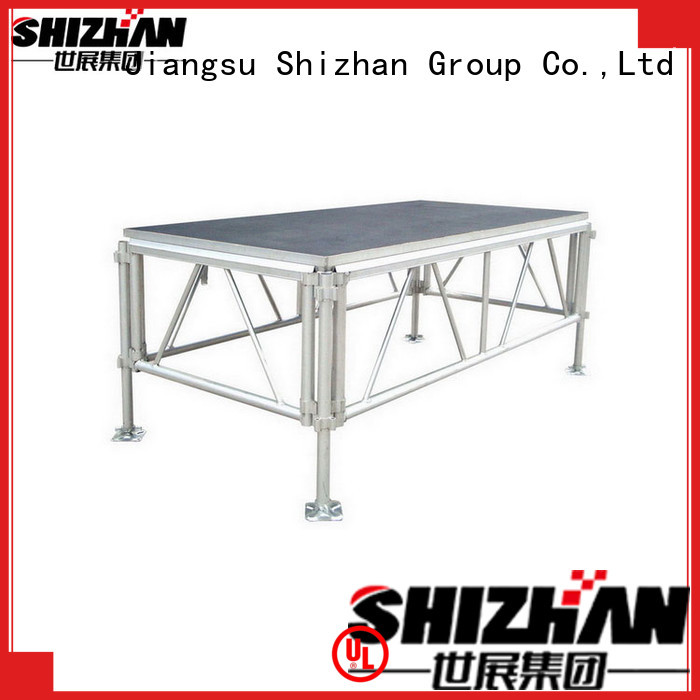 Shizhan ISO9001 certified folding stage platform factory for event
