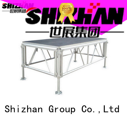 Shizhan folding stage platform manufacturer for event