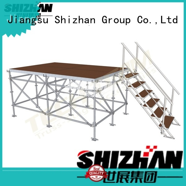 Shizhan ISO9001 certified aluminum stage platform manufacturer for party