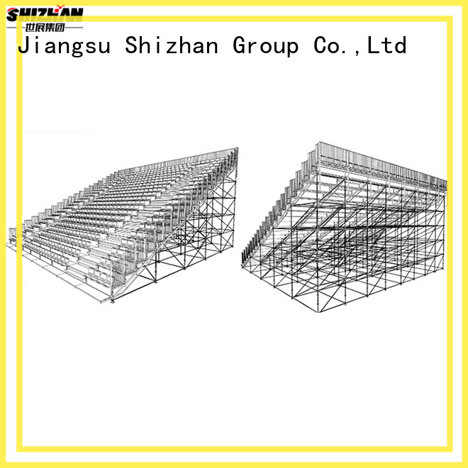 Shizhan hot recommended outdoor bleacher bulk purchase for stadium