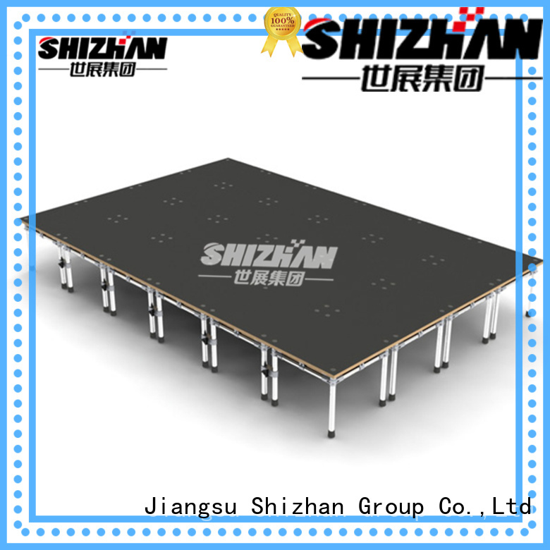 Shizhan 100% quality outdoor concert stage trader for party