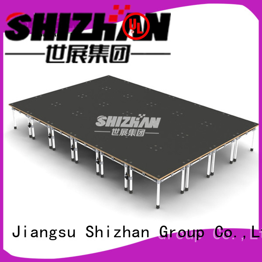 Shizhan ISO9001 certified folding stage platform factory for sale
