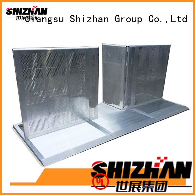 Shizhan concert crowd control barriers one-stop services for concert