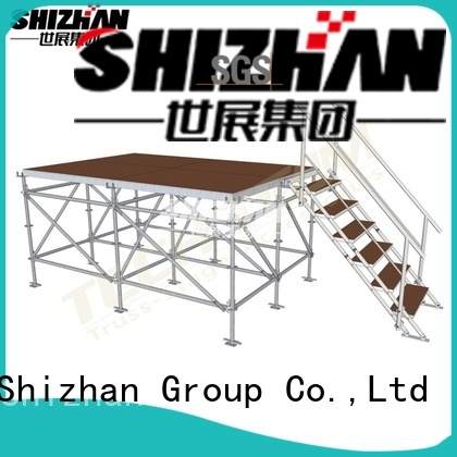 ISO9001 certified movable stage platform manufacturer for party