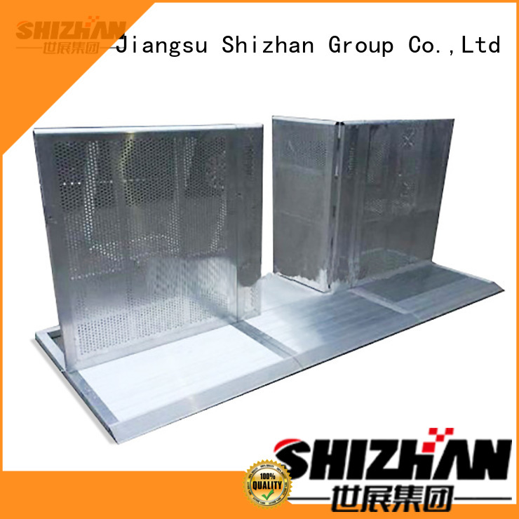 Shizhan safety barrier chinese manufacturer for sporting events