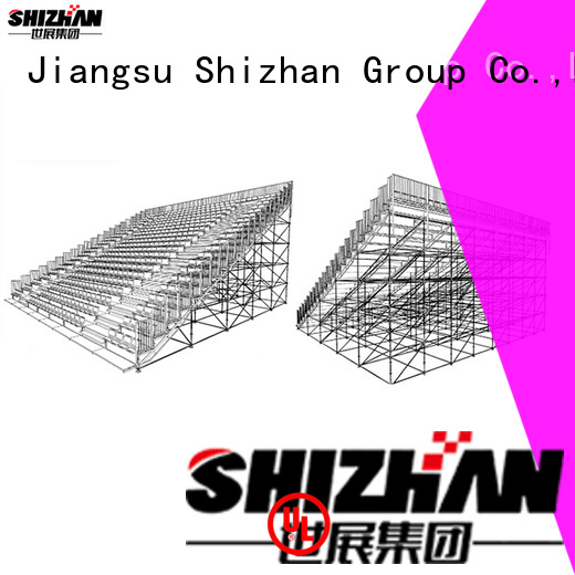 hot recommended baseball bleachers from China for gym