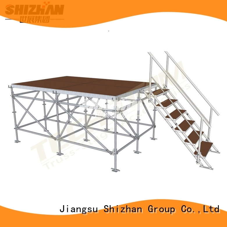 Shizhan 100% quality adjustable stage manufacturer for event