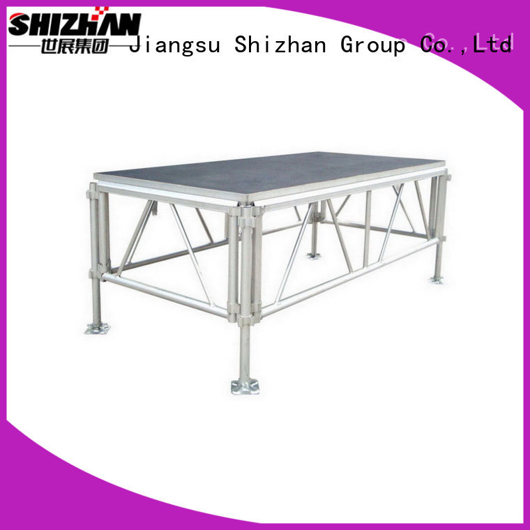 Shizhan ISO9001 certified aluminum stage manufacturer for sale