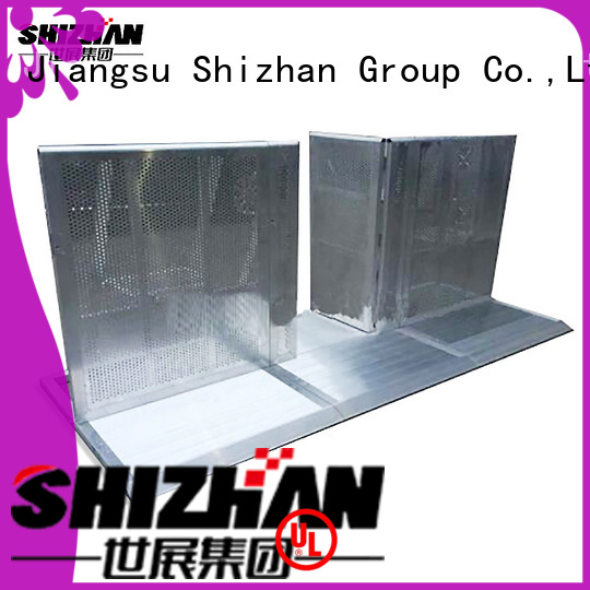 Shizhan TUV certified concert barricade chinese manufacturer for concert