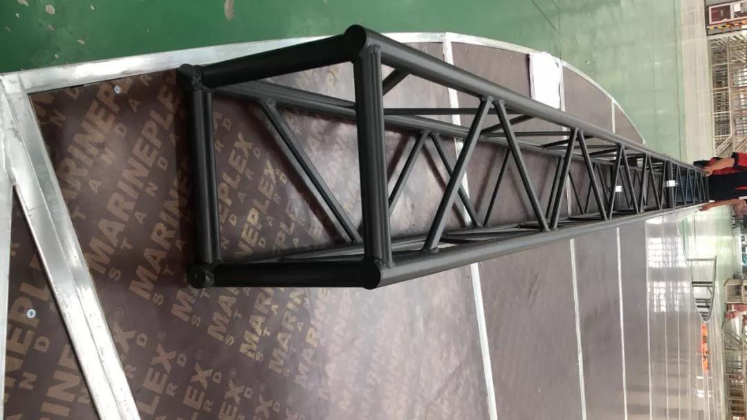 Surface black spray color treatment