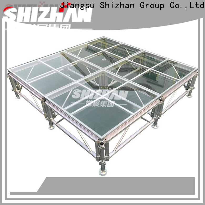 ISO9001 certified aluminum stage manufacturer for sale