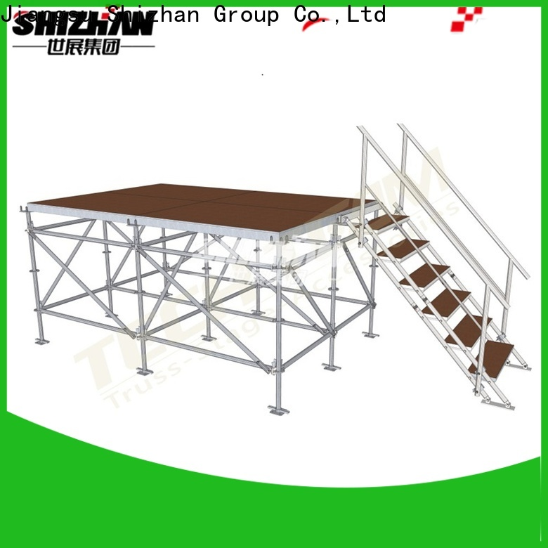 Shizhan 100% quality aluminum stage platform factory for party