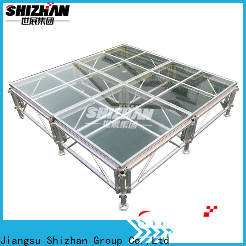Shizhan folding stage platform trader for party