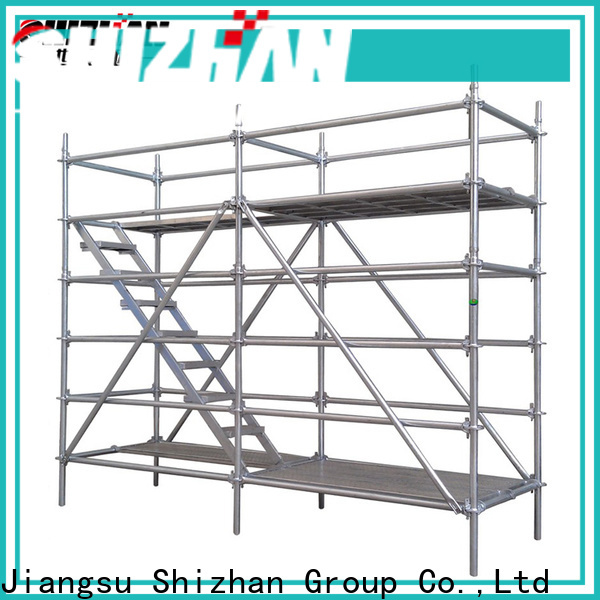 Shizhan ISO9001 certified metal scaffolding wholesaler trader for house building