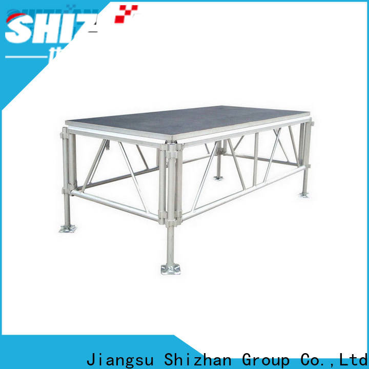 Shizhan ISO9001 certified aluminum stage platform factory for sale